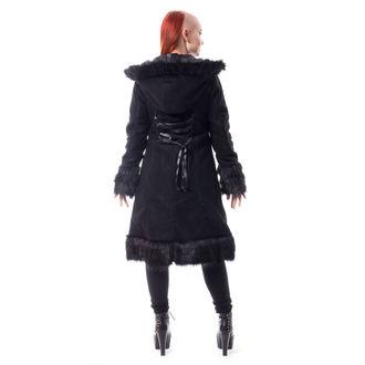 Ženski kaput Poizen Industries - DARK MASE - BLACK, POIZEN INDUSTRIES