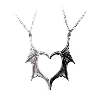 Privjesak za ogrlicu ALCHEMY GOTHIC - Darkling Heart, ALCHEMY GOTHIC