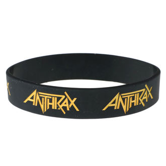 Gumena narukvica Anthrax - ROCK OFF, ROCK OFF, Anthrax