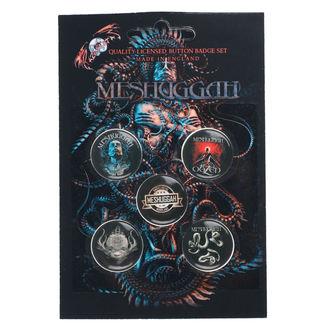Bedževi Meshuggah - 1Aolent Sleep Of Reason, RAZAMATAZ, Meshuggah