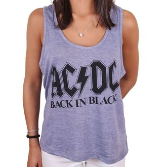 Ženski top AC / DC - BACK IN BLACK - LEGEND, LEGEND, AC-DC