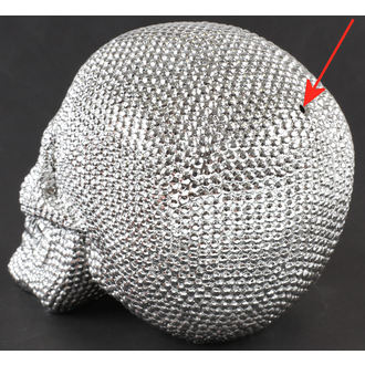 Ukras Skull - Silver - 78/5744 - OŠTEĆENO