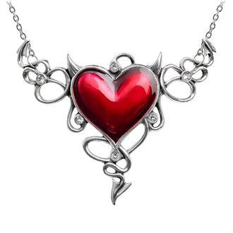 Ogrlica ALCHEMY GOTHIC - Devil Heart Genereux, ALCHEMY GOTHIC