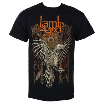 Muška metal majica Lamb of God - Crow - ROCK OFF, ROCK OFF, Lamb of God