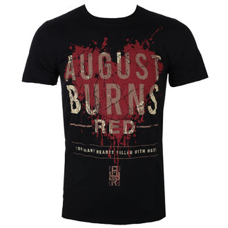 Muška metal majica August Burns Red - Heart Filled - ROCK OFF, ROCK OFF, August Burns Red
