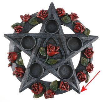 Svijećnjak Pentagram ruža - NEM5185 - OŠTEĆENO