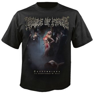 Muška metal majica Cradle of Filth - Exquisite torments await - NUCLEAR BLAST, NUCLEAR BLAST, Cradle of Filth