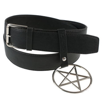 Pojas DISTURBIA - RING PENTAGRAM, DISTURBIA