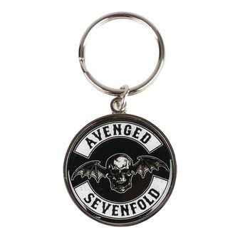 Privjesak za ključeve Avenged Sevenfold - Deathbat - ROCK OFF, ROCK OFF, Avenged Sevenfold