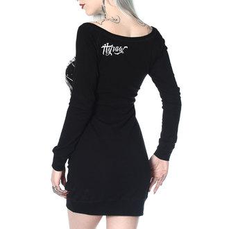Ženska haljina HYRAW - ROBE MANCHES LONGUES ANGEL OF DEATH, HYRAW