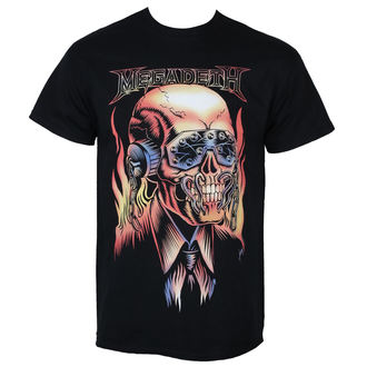 Majica metal muška Megadeth - FLAMING VIC - PLASTIC HEAD, PLASTIC HEAD, Megadeth