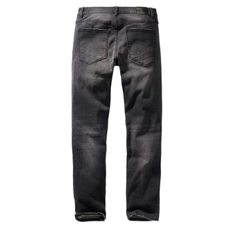 Muške hlače BRANDIT - Rover - Black denim- slim fit, BRANDIT