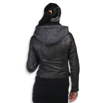 Ženska kožna jakna AC-DC - Antracite - NNM, NNM, AC-DC