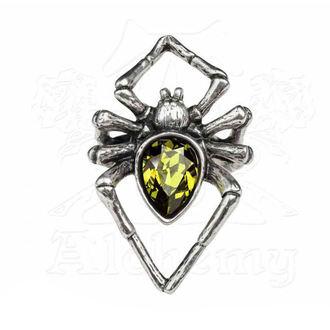 Prsten ALCHEMY GOTHIC - Emerald Venom, ALCHEMY GOTHIC