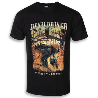 Muška metal majica Devildriver - Outlaws Til The End - NAPALM RECORDS, NAPALM RECORDS, Devildriver