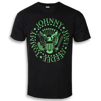 Muška metal majica Ramones - Green Seal - ROCK OFF, ROCK OFF, Ramones