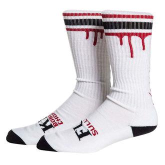 Visoke čarape SULLEN - DON'T DIE - WHT / BLK / RED, SULLEN