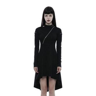 Ženska haljina PUNK RAVE - Tech Noir, PUNK RAVE