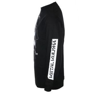 tričko pánské s dlouhým rukávem METAL MULISHA - UNDEAD BLK, METAL MULISHA