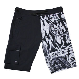 Muške kratke hlače (kupaći) METAL MULISHA - FLYER- BLK, METAL MULISHA