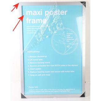 Okvir za poster (61x91,5 cm) - Silver - GB Posters - OŠTEĆENO, GB posters