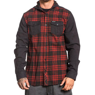 Muška košulja SULLEN - FLINT - BLACK / RED, SULLEN
