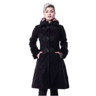 Ženski kaput POIZEN INDUSTRIES - FROZEN - CRNI, POIZEN INDUSTRIES