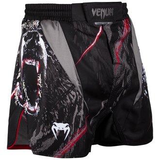 Muški bokserski šorc (borbeni šorc) Venum - Grizzli - Crna / Bijela, VENUM