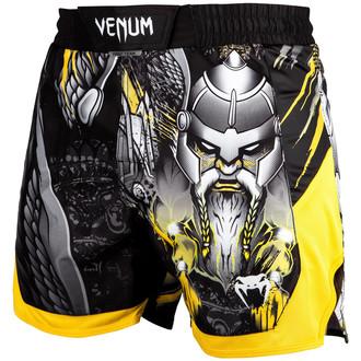 Muški bokserski šorc (bokserski šorc) Venum - Viking 2.0 - Crna / Žuta boja, VENUM