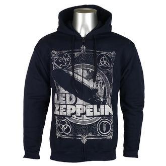 Muška majica s kapuljačom Led Zeppelin - Navy -, NNM, Led Zeppelin