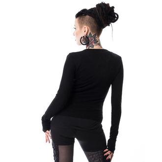 Ženski džemper POIZEN INDUSTRIES - GRAB HER - CRNI, POIZEN INDUSTRIES
