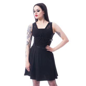 Ženska haljina POIZEN INDUSTRIES - BLACK, POIZEN INDUSTRIES