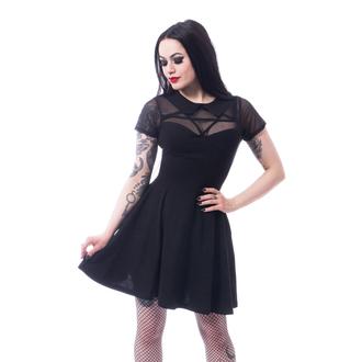 Ženska haljina HEARTLES - HEX WEDNESDAY - BLACK, HEARTLESS