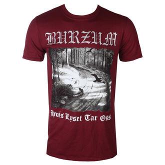Muška metal majica Burzum - HVIS LYSET KATRAN OSS (KESTEN) - PLASTIC HEAD, PLASTIC HEAD, Burzum