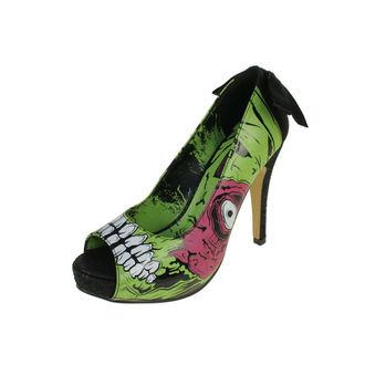 štikle ženske   (cipele) IRON FIST - Zombie Stomper Platform IFLPLH00402S12 - GREEN