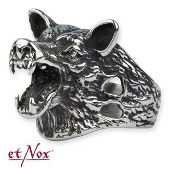 Prsten ETNOX - Wolf Head, ETNOX