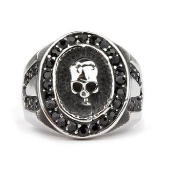 Prsten ETNOX - Crystal Skull, ETNOX