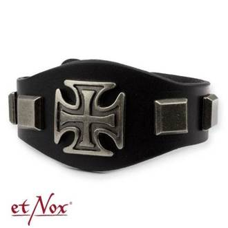 Narukvica ETNOX - Iron Cross and Studs, ETNOX