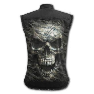 Muška košulja bez rukava / Prsluk SPIRAL - CAMO-SKULL, SPIRAL