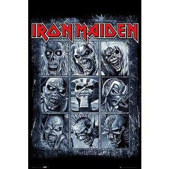 Poster IRON MAIDEN - GB posters, GB posters, Iron Maiden