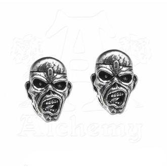 Naušnice Iron Maiden - Eddie Head - ALCHEMY GOTHIC, ALCHEMY GOTHIC, Iron Maiden