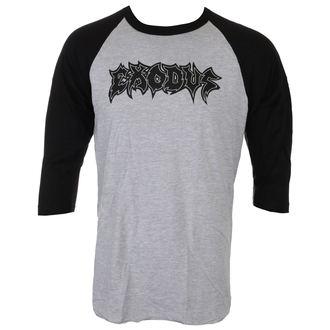 Majica muške s 3/4 dugi rukav EXODUS - METAL COMMAND - SIVA / BLK - JSR, Just Say Rock, Exodus