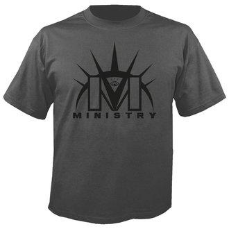 Muška metal majica Ministry - Logo GREY - NUCLEAR BLAST, NUCLEAR BLAST, Ministry