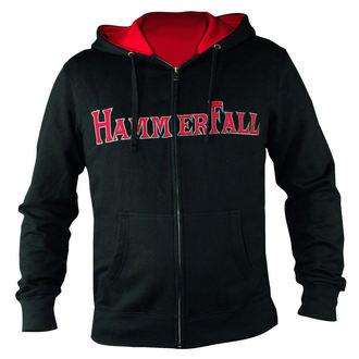 hoodie ženski s energija Hammerfall - Hammered DELUXE Djevojčura ZIP HOOD - HSW - 157995, NUCLEAR BLAST, Hammerfall