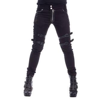 Ženska hlače HEARTLESS - JOY - CRNE - POI495