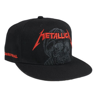 Kapa Metallica - One Justice - Black, NNM, Metallica