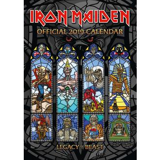 Kalendar za godinu 2019. IRON MAIDEN, NNM, Iron Maiden