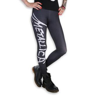 Ženske hlače (tajice) - Metallica - Logo - Crna / Bijela, PAMELA MANN