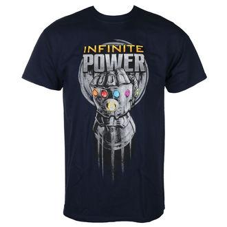 tričko pánské AVENGERS - INFINITY WAR - INFINITE POWER GLOVE - NAVY - LIVE NATION, LIVE NATION