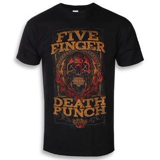 Muška metal majica Five Finger Death Punch - Wanted - ROCK OFF, ROCK OFF, Five Finger Death Punch